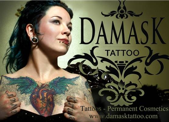 Damask Tattoo - seattle