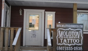 molotov and bricks tattoo shop whitehorse