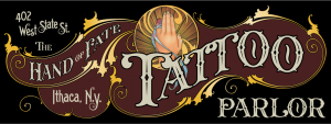 The Hand of Fate Tattoo Ithaca NY